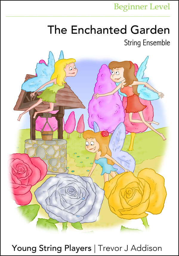 String Ensemble Sheet Music The Enchanted Garden