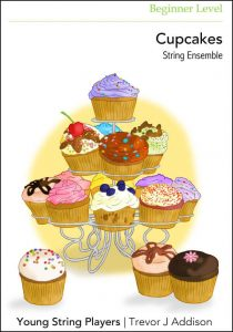 String Ensemble Sheet Music Cupcakes