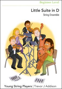 String Ensemble Sheet Music Little Suite in D
